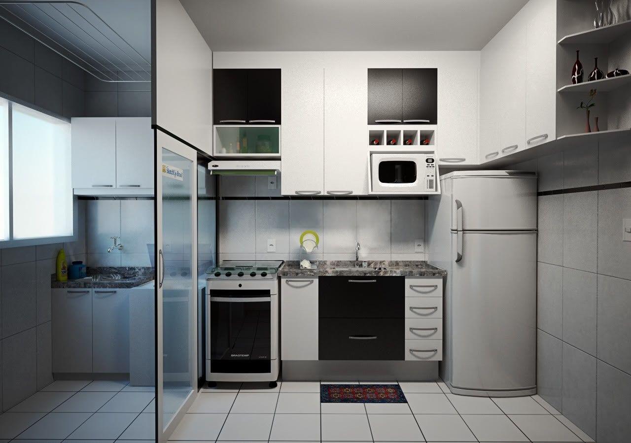 #546A77 cozinha planejadas e área de serviço preço em Valinhos 1280x899 px Projetos Cozinha Com Area De Serviço_5063 Imagens
