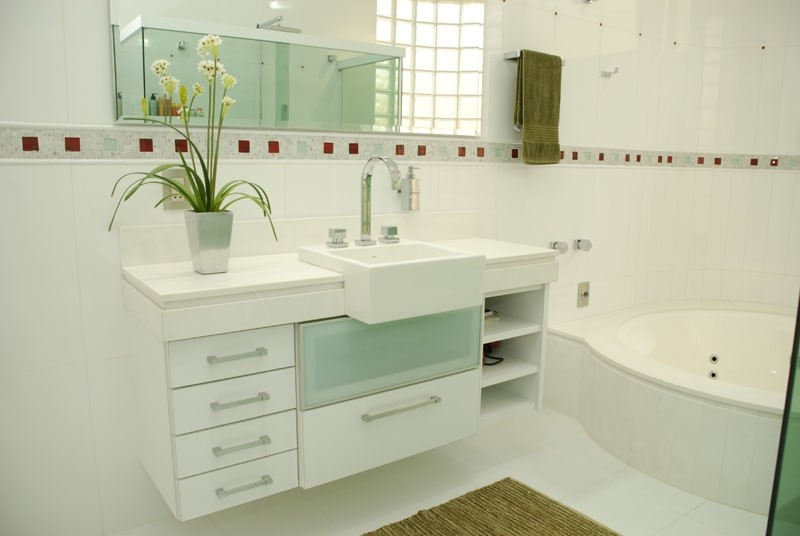 Móveis Planejados sob Medida  Marcenaria Oliveira Planejados -> Movel Banheiro Planejado