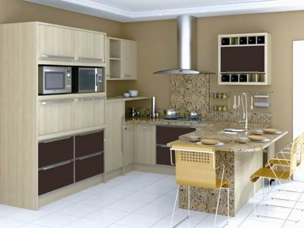 Onde Encontrar Cozinha Planejada Americana em Marapoama - Cozinha Modulada