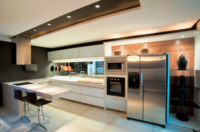 Projetos de Cozinha Planejada em Franca - Cozinha Modulada