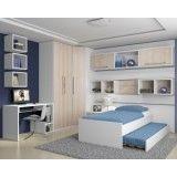 dormitórios planejados de solteiro preço em Presidente Prudente
