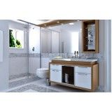 móveis planejados para banheiro preço em Piracicaba